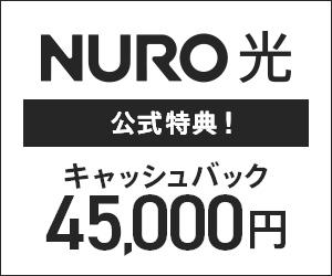 CMで話題!『世界最速インターネット NURO 光 』