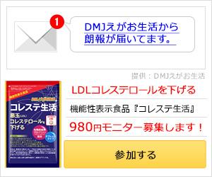 コレステロール対策サプリ【コレステ生活】商品モニター