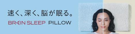 最高の睡眠枕「ブレインスリープピロー」